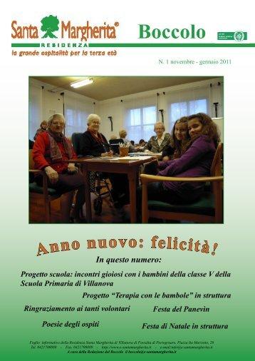 Numero di Gennaio 2011 - Residenza Santa Margherita