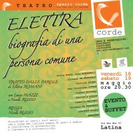 ELETTRA ELETTRA - LatinaEventi.it