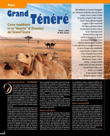Niger. Grand Tènèrè - Viaggi Avventure nel mondo