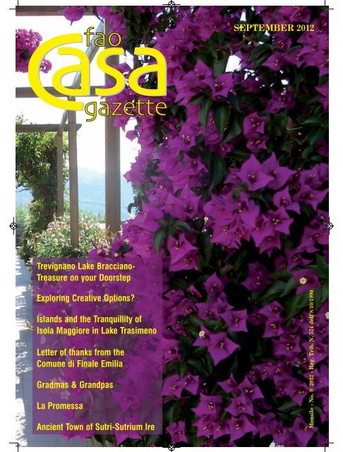 Cuscini Coop.Read More Fao Staff Coop