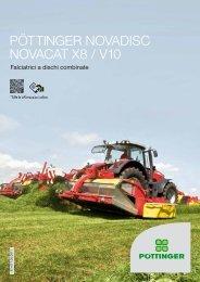 novadisc/novacat x8 / v10 - Alois Pöttinger Maschinenfabrik GmbH
