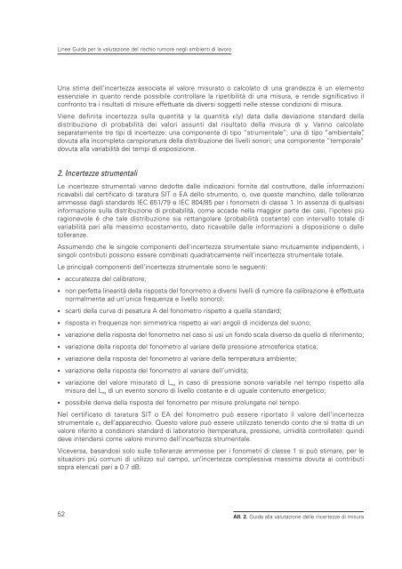2005 Linee guida per il rischio rumore.pdf - Audiovestibologia.It
