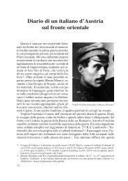Diario di un italiano d'Austria sul fronte orientale. - Ad Undecimum