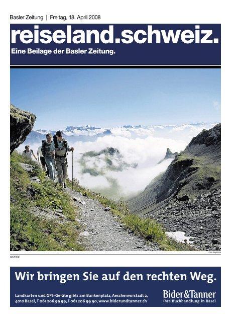 reiseland.schweiz. - Basler Zeitung