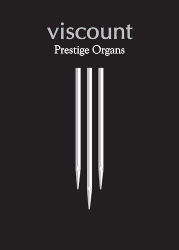 Prestige 100 - Viscount Prestige organs