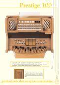 Prestige 100 - Viscount Prestige organs - Page 5