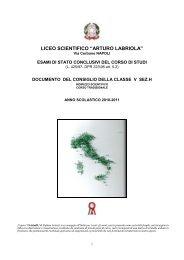 """Indirizzo Scientifico """"Ettore Majorana"""" di Pozzuoli - Liceo Labriola"""