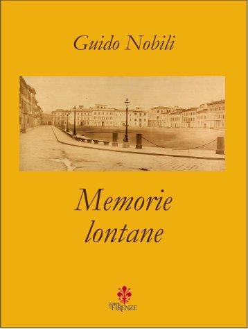 Memorie lontane - Comune di Firenze