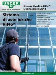 Sistema di aste idriche HiFlo™ - Unger