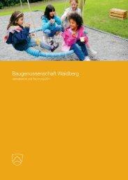 Jahresbericht und Jahres- rechnung 2011 - Baugenossenschaft ...