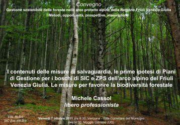 Michele Cassol - Parco Naturale delle Prealpi Giulie