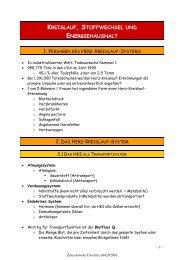 Lametschwandtner-Mitschrift 1 - StV Biologie Salzburg