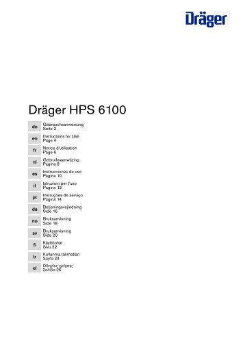 Dräger HPS 6100 - Helpi