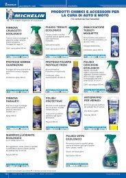 prodotti chimici michelin - DbWeb - Co.ra SpA - Cora
