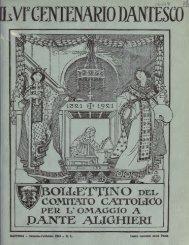 IL VI CENTENARIO DANTESCO - World eBook Library