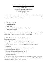 LA RIABILITAZIONE DEL PAVIMENTO PELVICO A cura di Gabriella ...