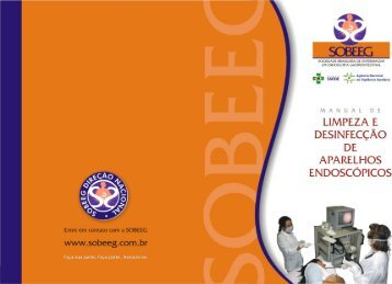 Manual de limpeza e desinfecção de aparelhos endoscópicos