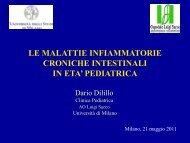 La malattie infiammatorie croniche intestinali - Ospedale Luigi Sacco