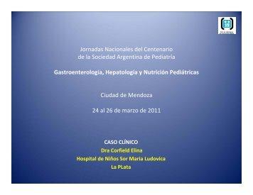Dra. Elina Corfield - Sociedad Argentina de Pediatría