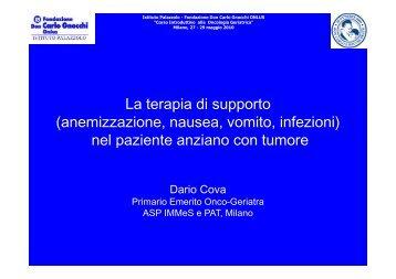 Scarica l'intervento di Dario Cova - Fondazione Don Carlo Gnocchi
