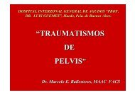 Traumatismo de pelvis - IntraMed