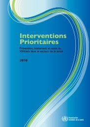 Interventions Prioritaires - libdoc.who.int - World Health Organization