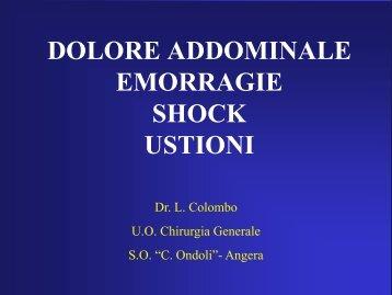 Emmoragie Shock Addominale
