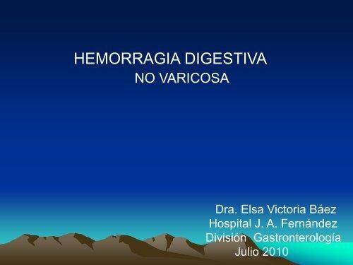 HEMORRAGIA DIGESTIV ORRAGIA DIGESTIVA - Meducar