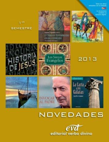 Novedades 2/2013 - editorial VERBO DIVINO