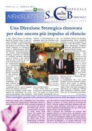 Anno 4, n. 2 - febbraio 2011 - Ospedale San Carlo Borromeo