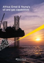 Africa: Ernst & Young's oil and gas capabilities
