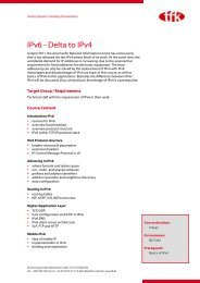 IPv6 - Delta to IPv4 - tfk