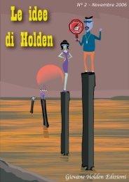 Rivista online - Le idee di Holden - N° 2 - Giovane Holden Edizioni