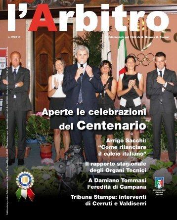 """""""l'Arbitro"""" in PDF - Associazione Italiana Arbitri"""