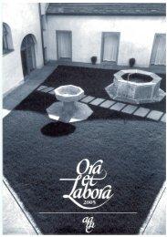 Ora et Labora 2005 - Monastero di Claro
