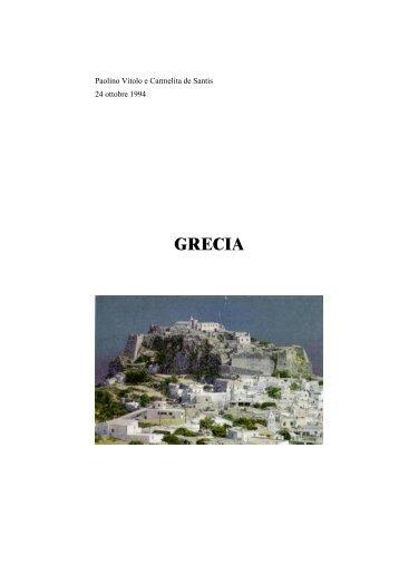 Grecia - Paolino Vitolo