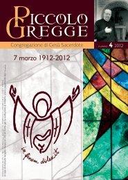 n. 4 - Congregazione di Gesù Sacerdote