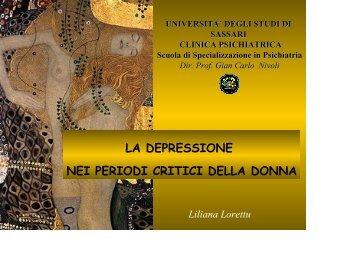 scarica l'intervento della professoressa Liliana ... - Sardegna Salute