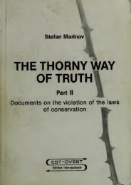 The thorny way of truth - Free Energy Community