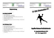 Turniereinladung Jugend 2011 - TG Schierstein