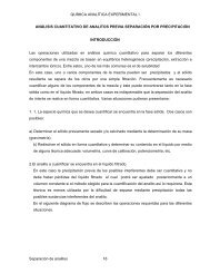 QUÍMICA ANALÍTICA EXPERIMENTAL I ANÁLISIS ... - DePa