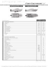 Inventarliste als PDF-Datei öffnen - THALMANN Boote & Yachten