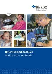 Unternehmerhandbuch - Textilreiniger Innung Berlin-Brandenburg