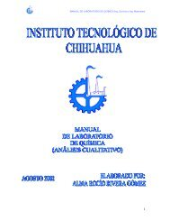 MANUAL DE LABORATORIO DE QUÍMICA - División de Estudios ...