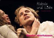 Kabale und Liebe - beim Theater Oberhausen