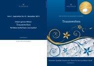 Traumwelten» Angebote - billerbeck Schweiz AG