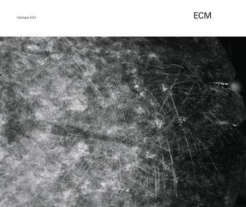Catalogue 2013 - Index of - ECM