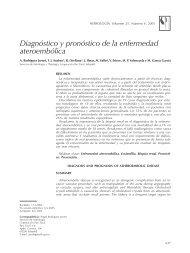 Diagnóstico y pronóstico de la enfermedad ateroembólica - Nefrología