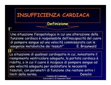 insufficienza cardiaca.pdf - Università Gabriele d'Annunzio