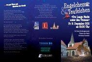 Die Lange Nacht unter den Türmen« Fr. 9 ... - Theater der Nacht
